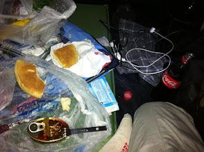 Photo: Night meal at Tan Tan plage