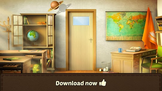 100 Doors Games 2020 Escape from School MOD (Unlimited Gold) 5