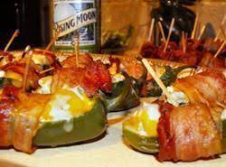 Bacon Rapped Sausage Jalapeno Popper's Recipe