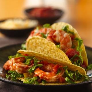 Salsa-Shrimp Tacos.