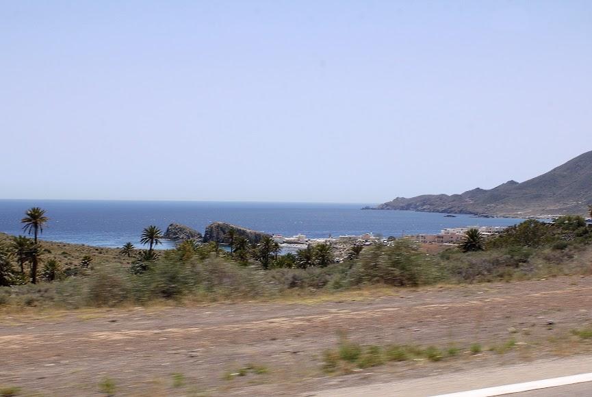 Paisaje del Parque Natural Cabo de Gata-Níjar.