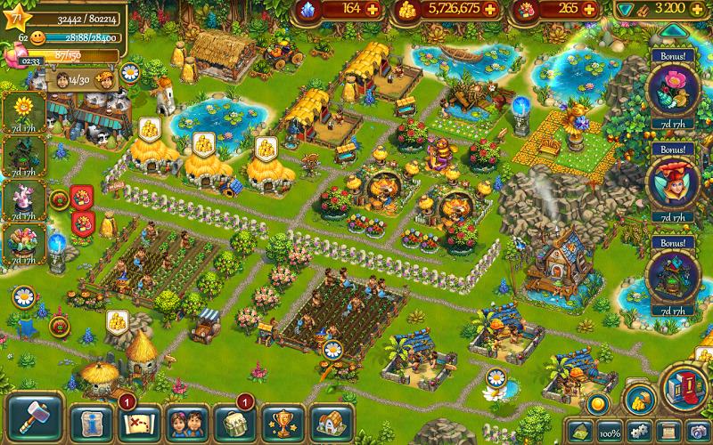 The Tribez: Build a Village Screenshot 4