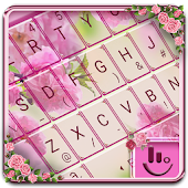 Pink Sakura Keyboard Theme