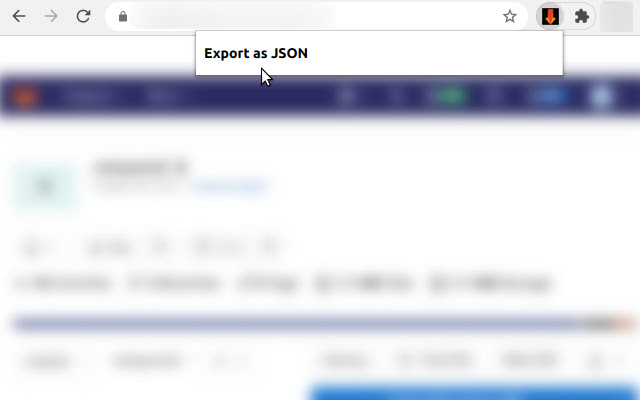 GitLab Issues JSON Export