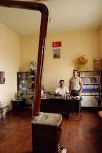 Photo: Workers of Eğitim Sen and of Kurdish Library in Bazit (Doğubayazıt). Eğitim Sen (Education and Science Worker's Union) is the Turkish trade union of teachers founded in 1995.