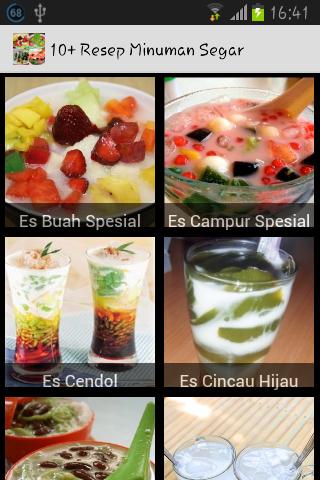 10+ Resep Minuman Segar