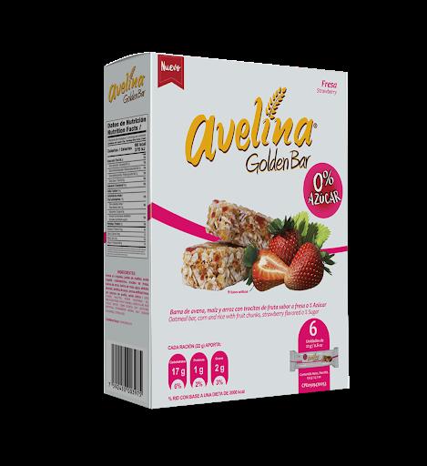avelina golden bar sin azucar fresa 132g