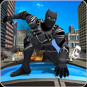Panther Super Hero Crime City Battle