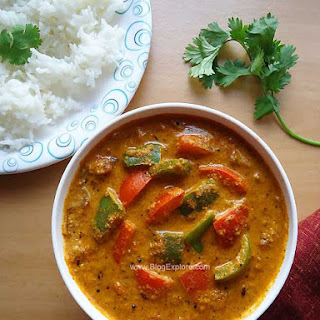 Capsicum Masala Curry
