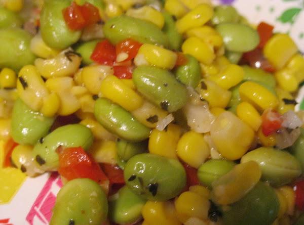 Herbed Corn & Edamame Succotash Recipe