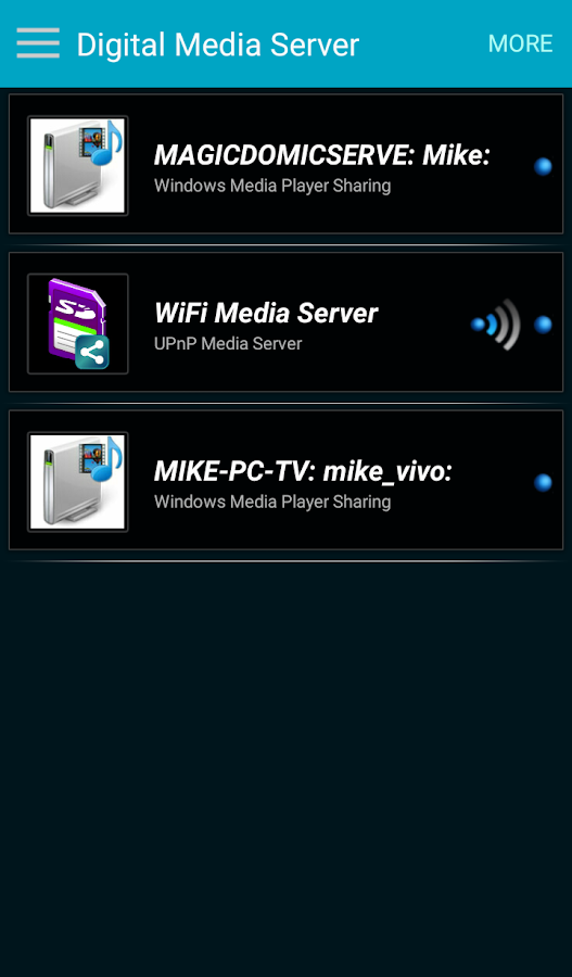 WiFi Oh Player- screenshot
