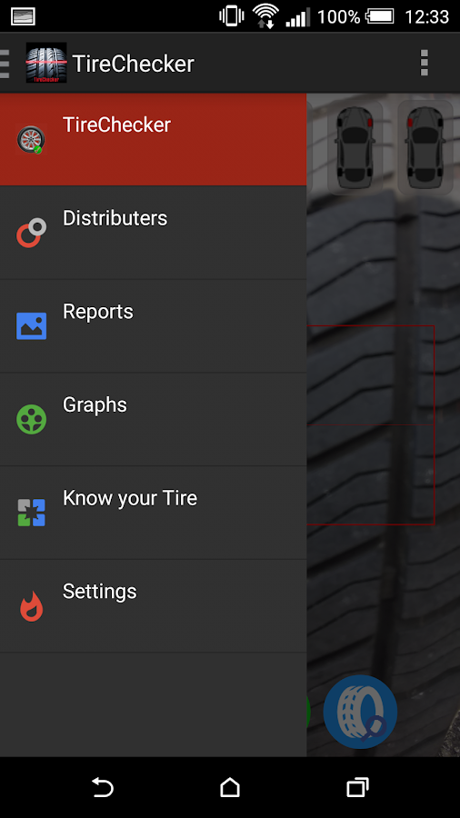 WheelCheck -Analyse your Tires- screenshot