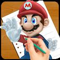 Draw Super Mario Run Lessons icon