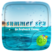 Summer Sea GO Keyboard Theme