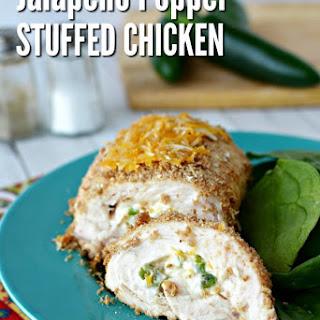 Jalapeño Popper Stuffed Chicken Breasts.