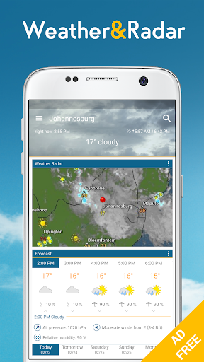 Weather & Radar Pro - Ad-Free  screenshots 1