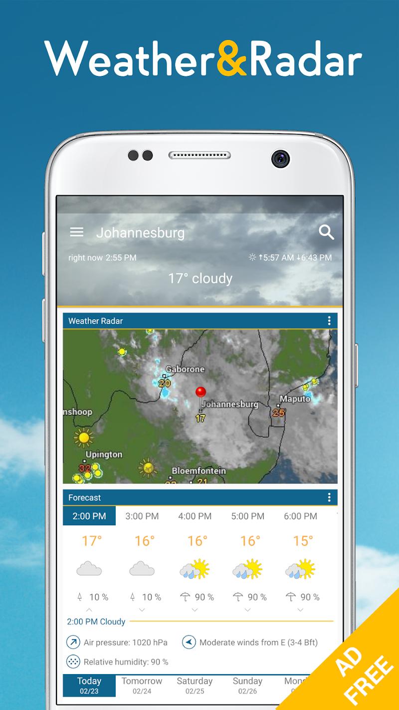 Weather & Radar Pro - Ad-Free Screenshot
