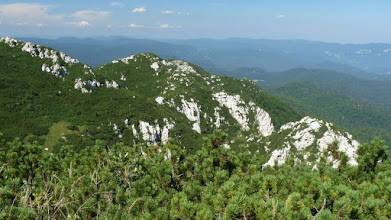 Photo: vista dal Monte Risnjak