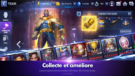 MARVEL Future Fight  captures d'écran 4