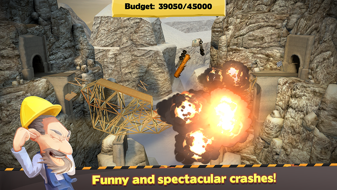 Bridge Constructor- screenshot