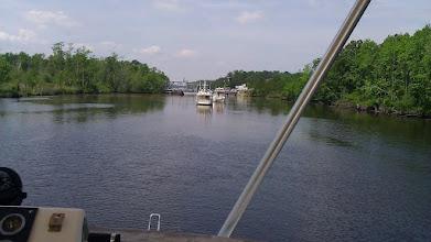 Photo: Centerville double swing bridge opening