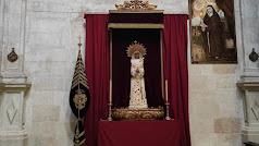 La Virgen del Consuelo, en las Claras.