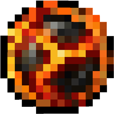 открытку картинки огненный шар из майнкрафта правильно его создать