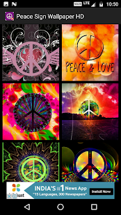 Peace Sign Wallpapers HD - náhled