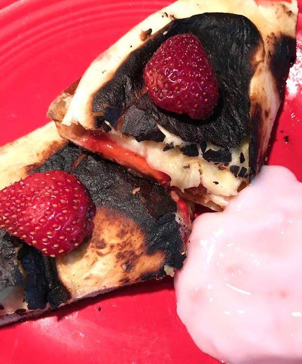 Strawberry Quesadillas Recipe