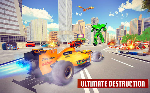 Dragon Robot Car Game u2013 Robot transforming games screenshots 5
