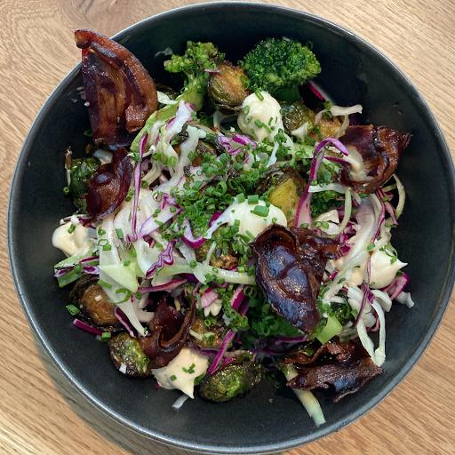 Brassica Caesar Salad