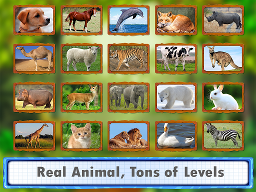 Animal Jigsaw Puzzles DayCare 1.0 screenshots 2