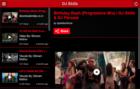 DJ Skillz Official App- screenshot thumbnail