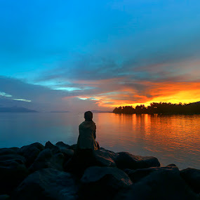 ALONE by Hexsa Saputra - Landscapes Sunsets & Sunrises (  )