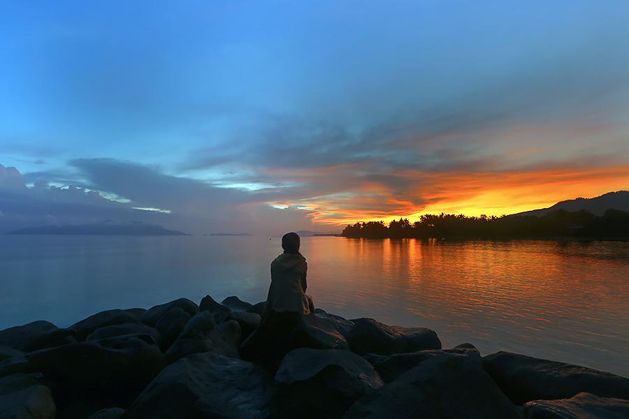 ALONE by Hexsa Saputra - Landscapes Sunsets & Sunrises (  )