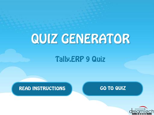 Tally.ERP9 Quiz
