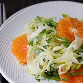 Endive, Arugula, Fennel and Orange Salad