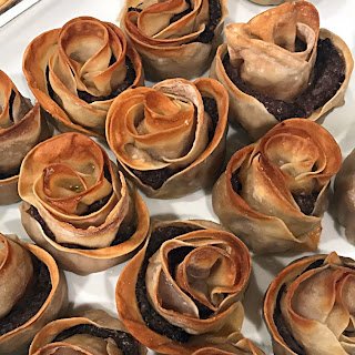 Rose Shaped Manti, Mantee, Mante Recipe