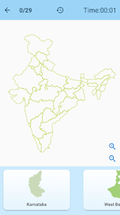 Map of India - Puzzle & Quiz Games for Learning - náhled
