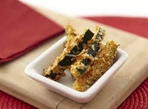 Parmesan Zucchini Sticks Recipe