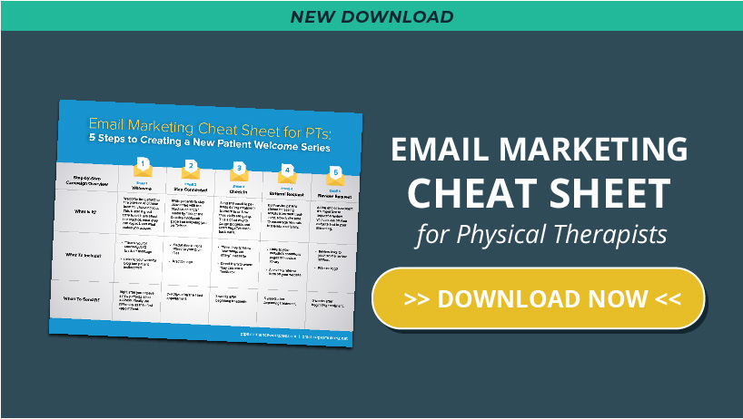 email best practices physical therapy cheat sheet