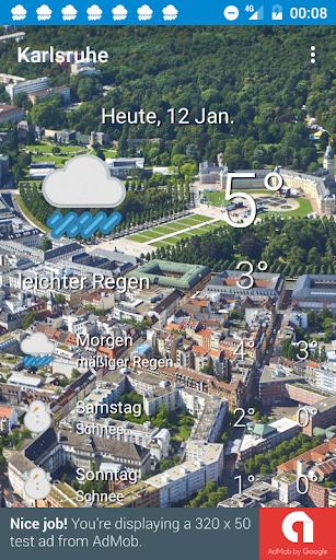 Das Wetter Karlsruhe