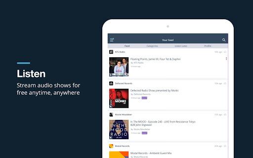 Mixcloud - Radio & DJ mixes 25.4.0 8