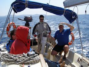 Photo: Vene kallellaan joten tuultakin hieman?