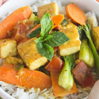 Coconut Tofu Curry.