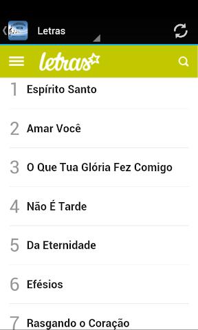 android Fernanda Brum Musica & Letras Screenshot 1