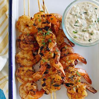 Barbecued Shrimp with Remoulade Sauce Recipe