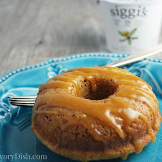 Healthier Baked Maple Donuts.