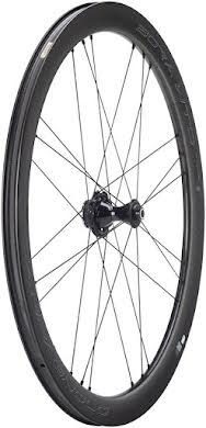 Campagnolo BORA WTO 45 Front Wheel - 700c, QR x 100mm, Center-Lock, 2-Way Fit, Dark Label alternate image 3
