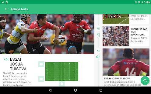 CANAL Rugby App- screenshot thumbnail